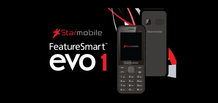 No more choppy calls with Voice over LTE-capable Starmobile FeatureSmart™ Evo 1