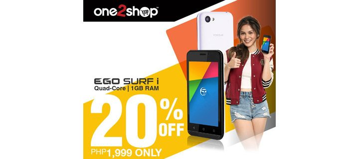 Torque Mobile EGO Surf i only P1999 from July 22 to 23
