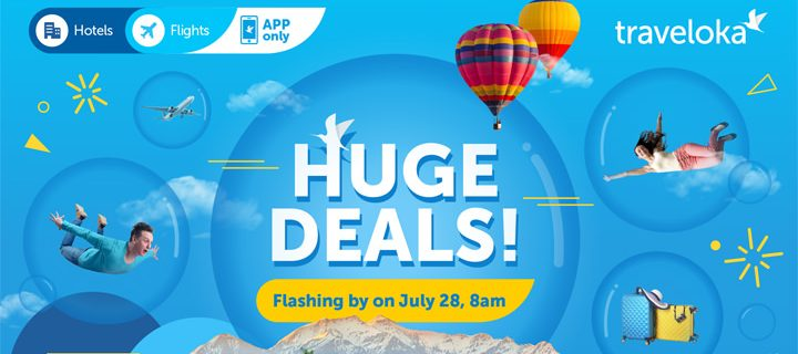 Traveloka to Hold Flash Sale on July 28 – Enjoy Exclusive Travel Deals with No Booking Fee