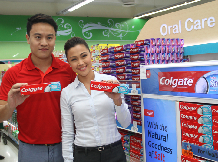 Asin is in: Colgate Introduces New Colgate® Active Salt Toothpaste in PH
