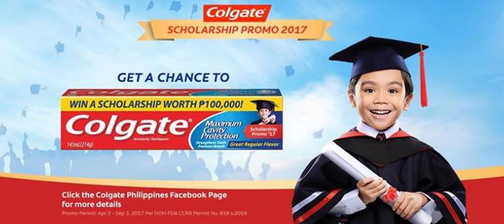 Colgate Scholarship Promo 2017