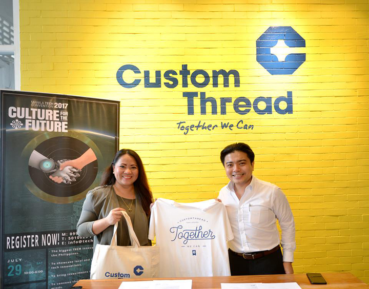 CustomThread joins the Techtonic 2017