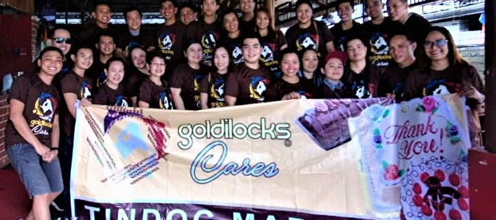 Goldilocks brings smiles to Marawi Evacuees