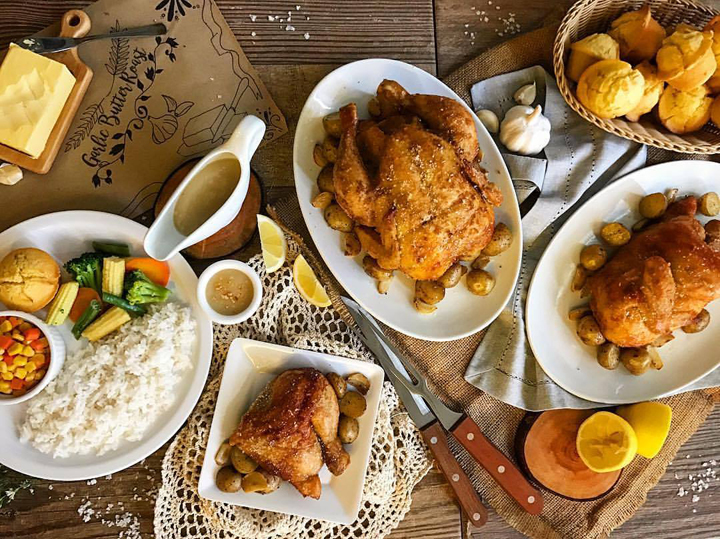 Kenny Rogers Roasters Garlic Butter Roast Solenn Heussaff