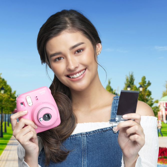 Liza Soberano is the new Fujifilm Philippines brand ambassador - Fujifilm Instax Mini 9