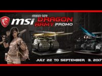 Be part of the Dragon Army! Get your weapon, get you MSI gaming laptop, and get a chance to win tickets to Tokyo Game Show 2017 and other prizes!