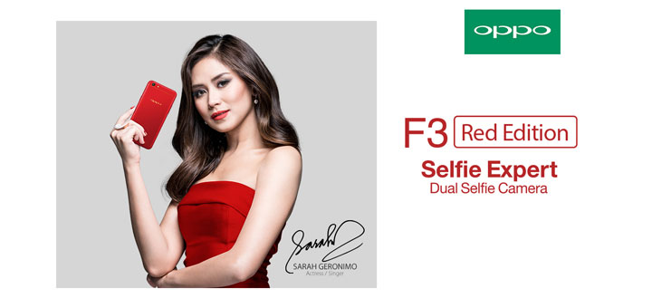 OPPO F3 Red Edition available on August 12