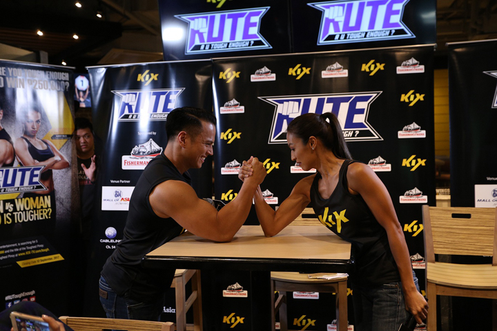"The Search for The Toughest Pinoy is Back! KIX Brings Back R U Tough Enough? with ""Man versus Woman"" Edition"