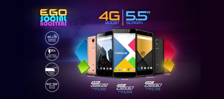 TORQUE launches sub-P5k phones bundled with Smart LTE SIM – the Note 4G, Note 3G, and Zoom Lite