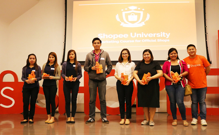 Shopee official shops representatives.