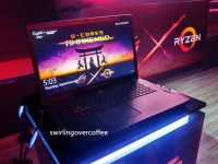The ROG Strix GL702ZC is the first gaming laptop with the 8-core AMD Ryzen processor