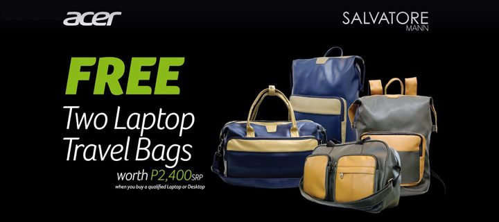 989fb3075eb9 Get Limited Edition Salvatore Mann Leather Bags when you buy select Acer  laptops