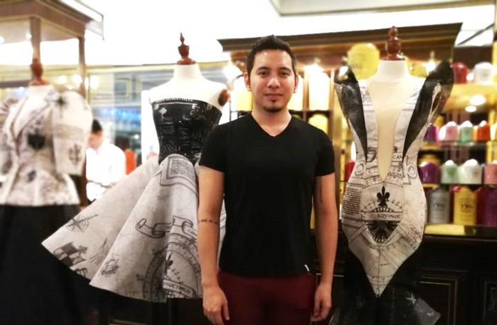 "Epson Brand Ambassador John Herrera's ""Armada"" is a 30-piece apparel for women digitally printed on textile."