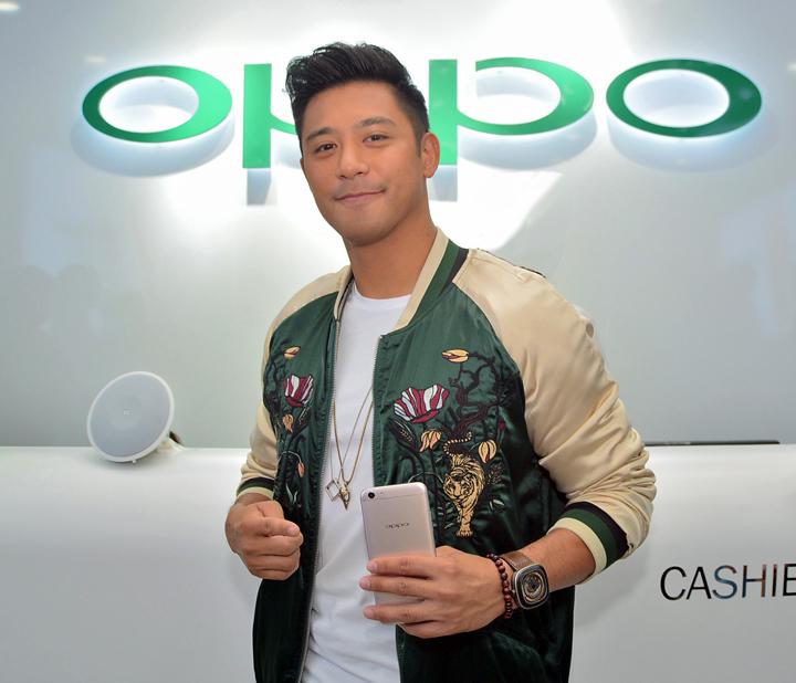 OPPO Ayala Center Cebu, Rocco Nacino, OPPO F3