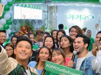 OPPO opens Ayala Center Cebu concept store, with OPPO influencer Rocco Nacino