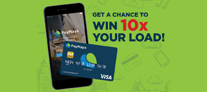 Get a chance to win 10x your PayMaya load at Robinsons!