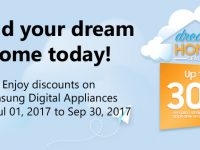 Hurry and get your dream home with great deals from Samsung Digital Appliances