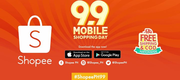 Pesta Belanja Online Shopee 9.9 Super Shoping Day (27 Agustus – 9 September 2018)