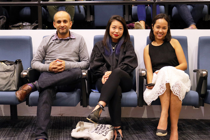 (L-R) Shopee and Facebook executives: Deepesh Trivedi (Facebook Head of Retail and eCommerce in Southeast Asia), Freda Luo (Facebook Clients Solution Manager), and Macy Castillo (Shopee Head of Commercial Business Head).