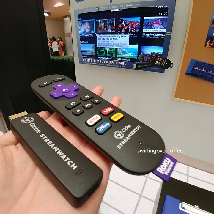 Globe Streamwatch Roku Device