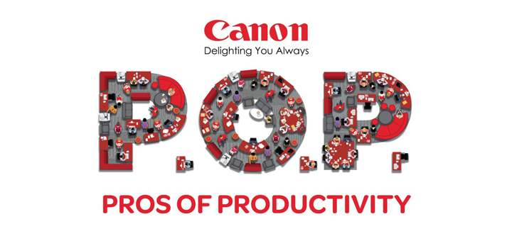 The Pros of Productivity: Canon demonstrates how business can be simple with the right technology