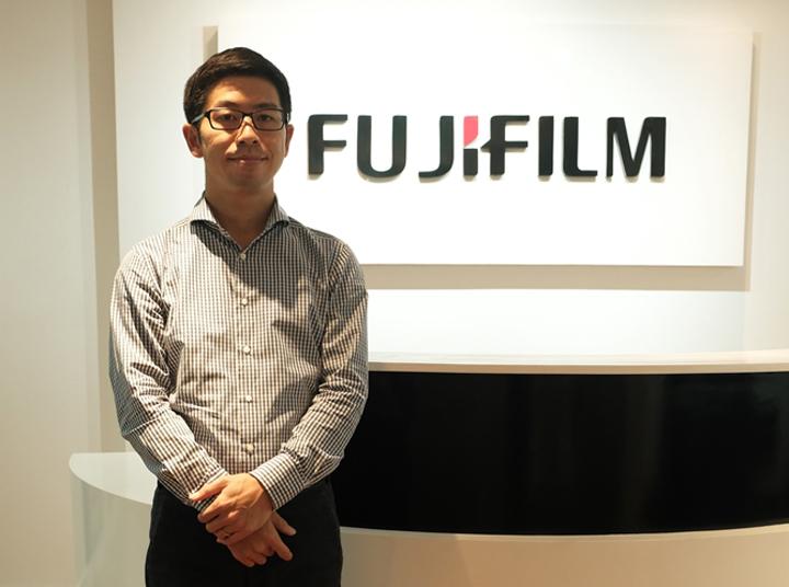 Fujifilm Philippines President Tomoyuki Fukura
