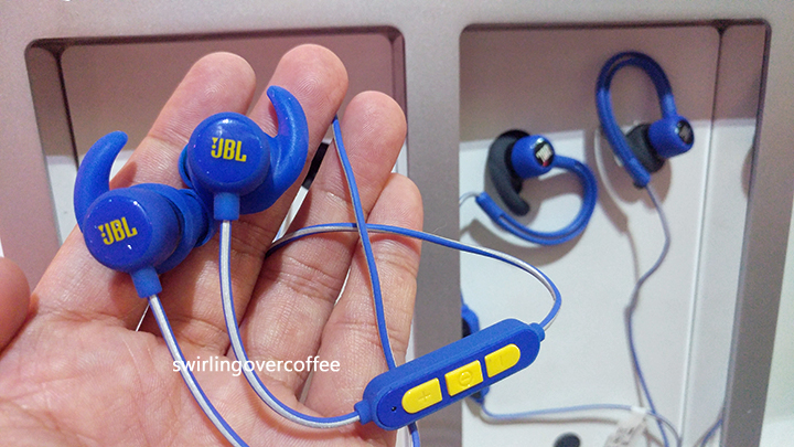 JBL Reflect Mini BT Steph Curry Signature Edition, JBL Reflect Countour, JBL wireless earphones, JBL Bluetooth earphones