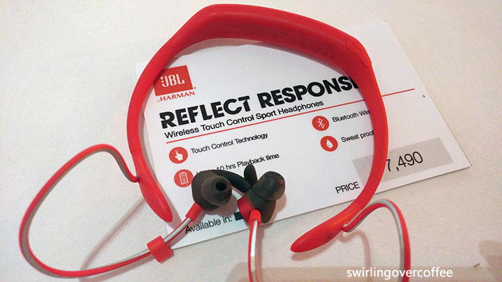 JBL Reflect Response, JBL wireless earphones, JBL Bluetooth earphones