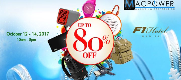 Get up to 80% off at the MacPower Gadget Sale from Oct 12 to 14
