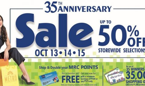 Metro turns 35 with an all-out SALE at up to 50% off
