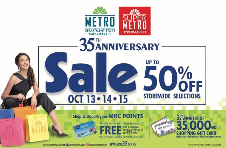 Metro 35th Anniversary Sale