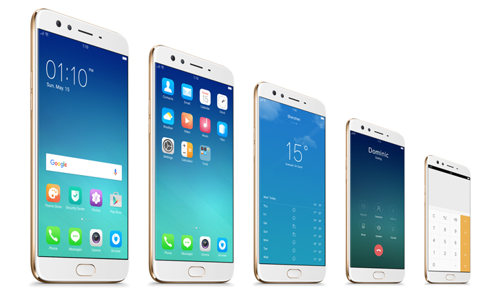OPPO F3 Plus display, OPPO F3 Plus Apps, OPPO F3 Plus home screen