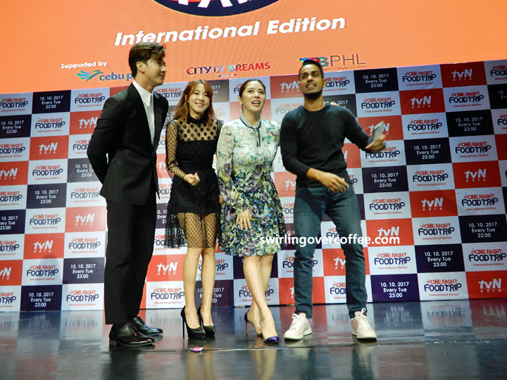 One Night Food Trip - International Edition, Sandara Park, Thunder Park, Grace Lee, Sam YG