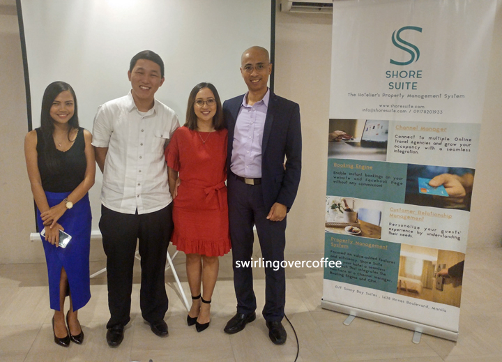 From left to right, Izza Angeles (Business Development Officer), Julio Telan (Chief Technical Officer), Ina Israel (Chief Operating Officer), and Alistair Israel (Chief Executive Officer).