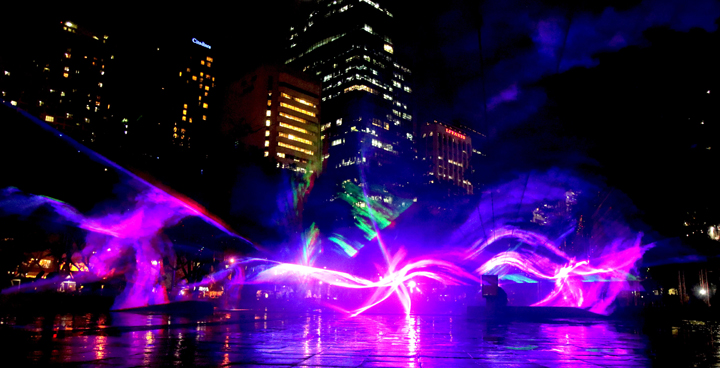 Come to the Festival of Lights at the Ayala Triangle Gardens. The show will run daily until the 7th of January 2018, every half hour from 6PM to 10PM.