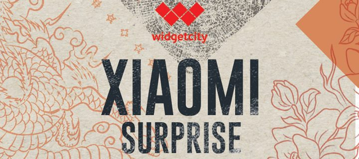 Xiaomi Surprise at Widget City