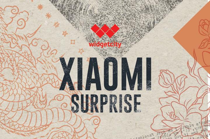 Xiaomi Surprise at Widget City