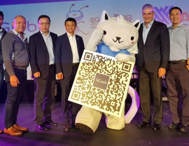 Cashless GCash payment system to roll out at Ayala Malls, Alibaba Founder Jack Ma attends launch