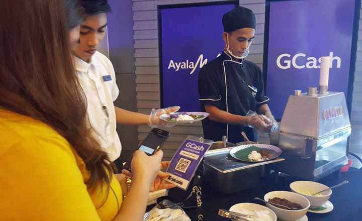Cashless GCash payment system to roll out at Ayala Malls