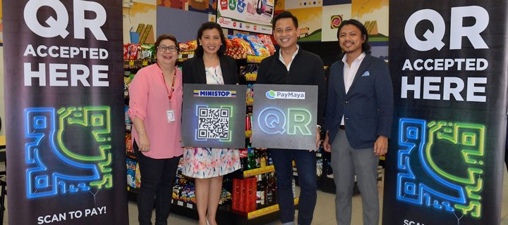 QR Code payment via PayMaya app now available in Ministop