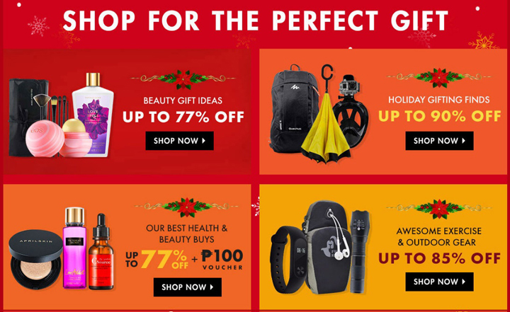 Shopee Super Christmas Sale 2017, Shop for the Perfect Gift