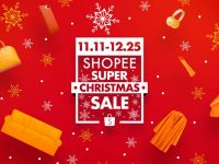 11.11 Shopee Super Christmas Sale records  a smashing 2.5 million orders in just 24 hours