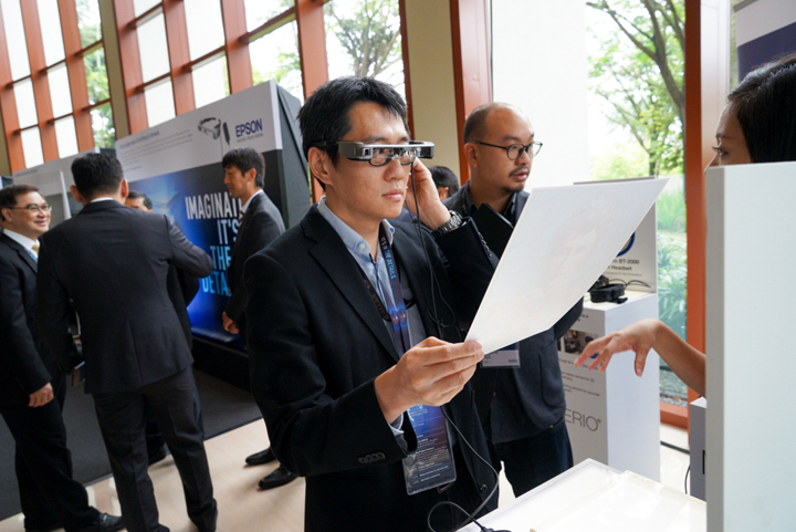 Epson Moverio BT-350 and BT 2200 launched during Epson Singapore's anniversary.