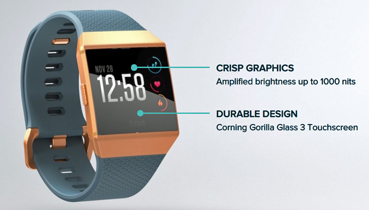 Fitbit Ionic smartwatch, Fitbit Ionic price, Fitbit Ionic features
