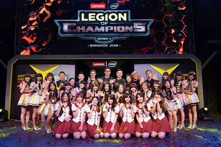 "On January 26, Lenovo officially kicked-off the Finale of ""Legion of Champions Series II"" in Bangkok, Thailand. The event, held in collaboration with Intel, is a major gaming competition in the region."
