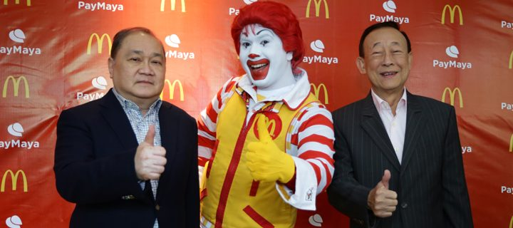 Soon you can pay for your McDonald's favorites using PayMaya