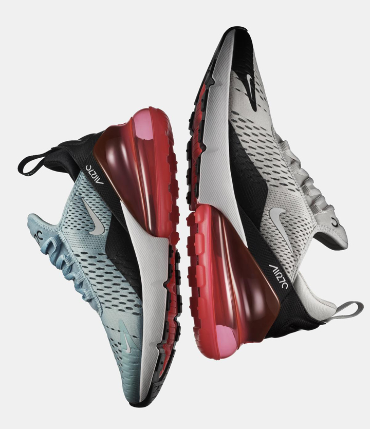 The new Air Max 270 will be available starting March 2, in select Nike stores, Commonwealth, Sole Academy, The Athlete's Foot, Capital with retail price Php 7,645.00.