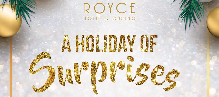 Experience the Christmas Cheer Only at Royce!