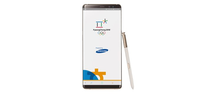 Samsung Electronics Launches the Official App of PyeongChang 2018 to Power Connections and Bring Fans Closer to the Olympic Winter Games PyeongChang 2018