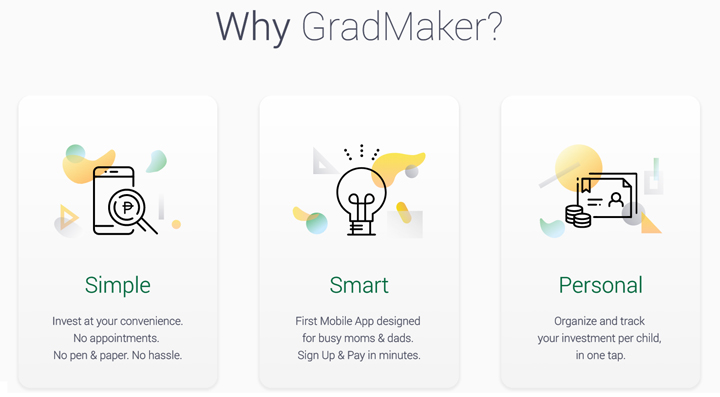 GradMaker app from ManuLife